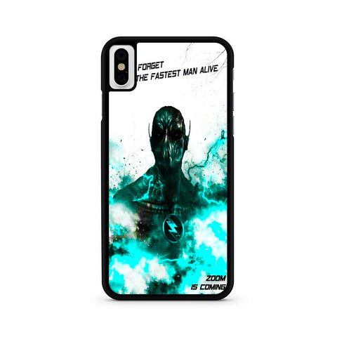 The Flash Zoom Quote iPhone X | XR | XS | XS Max Case