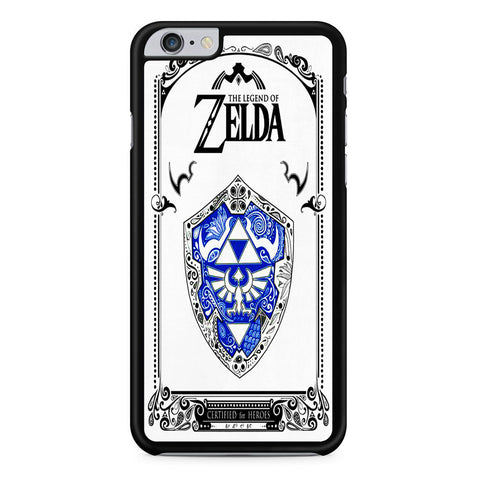 The Legend of Zelda Certified For Heroes iPhone 6 Plus | 6S Plus Case