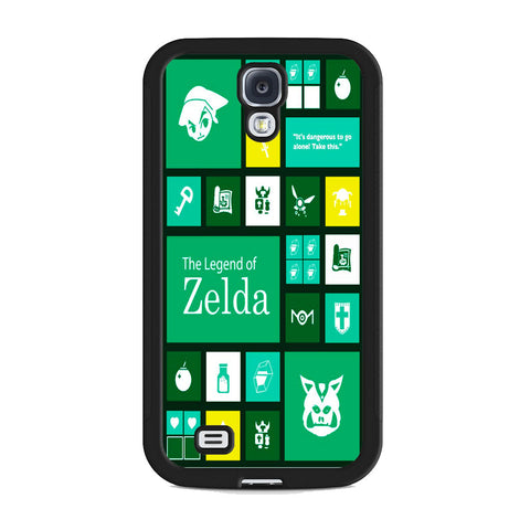 The Legend of Zelda Green Tosca Icon Samsung Galaxy S4 Case