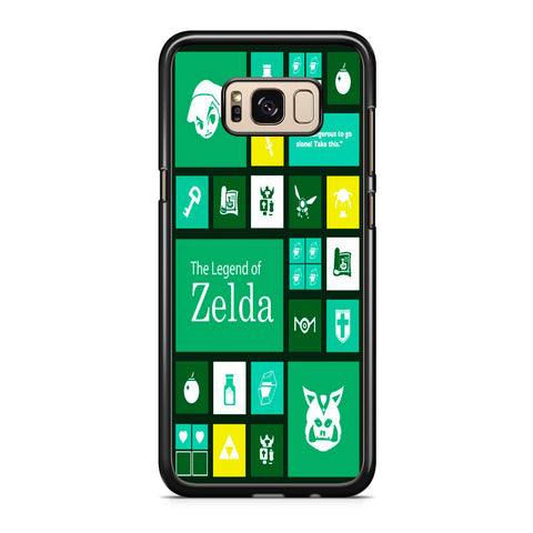 The Legend of Zelda Green Tosca Icon Samsung Galaxy S8 | S8 Plus Case