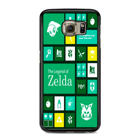 The Legend of Zelda Green Tosca Icon Samsung Galaxy S6 | S6 Edge | S6 Edge Plus Case
