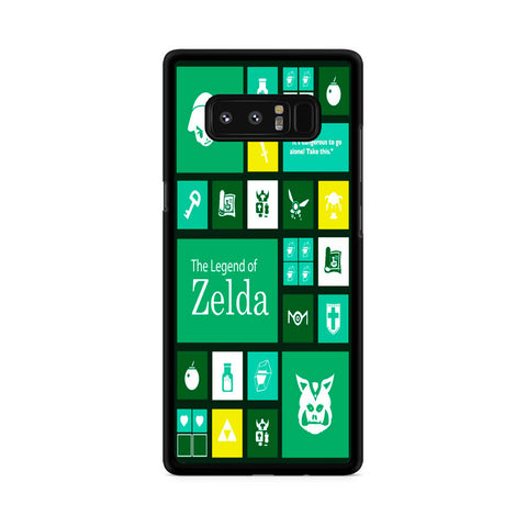 The Legend of Zelda Green Tosca Icon Samsung Galaxy Note 8 Case