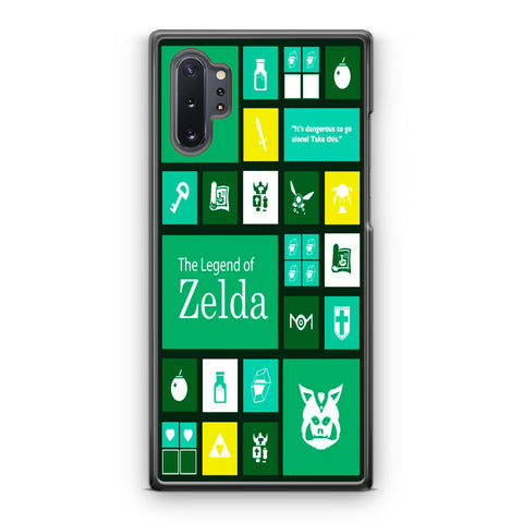 The Legend of Zelda Green Tosca Icon Samsung Galaxy Note 10 | Note 10 Plus Case