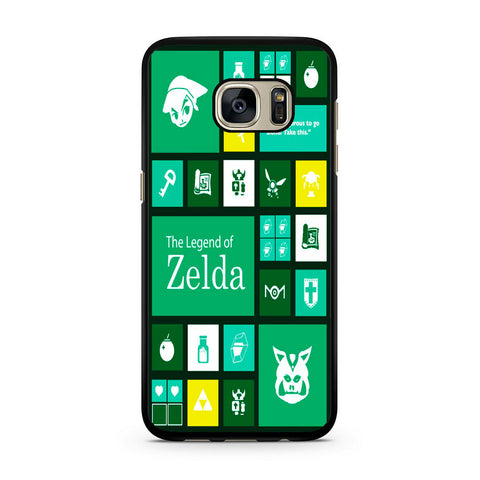 The Legend of Zelda Green Tosca Icon Samsung Galaxy S7 | S7 Edge Case