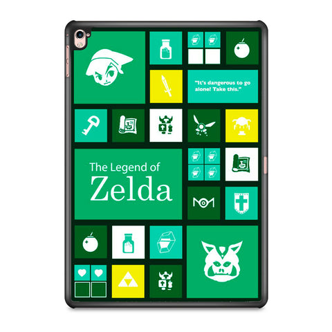 The Legend of Zelda Green Tosca Icon iPad Pro 9.7 Inch Case