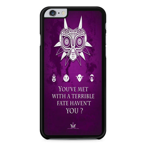 The Legend of Zelda Majora Quote iPhone 6 Plus | 6S Plus Case