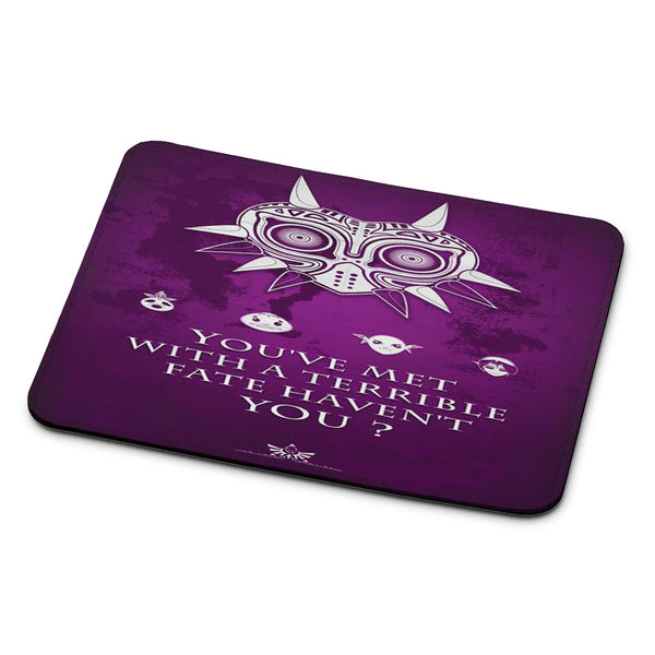 The Legend of Zelda Majora Quote Mouse Pad
