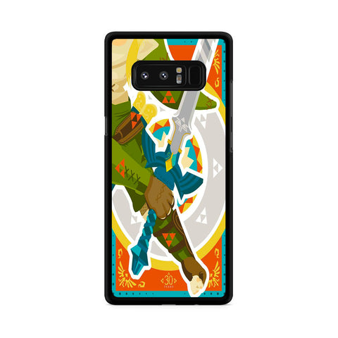 The Legend of Zelda Master Sword Samsung Galaxy Note 8 Case