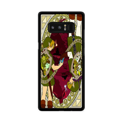 The Legend of Zelda Reverse Samsung Galaxy Note 8 Case