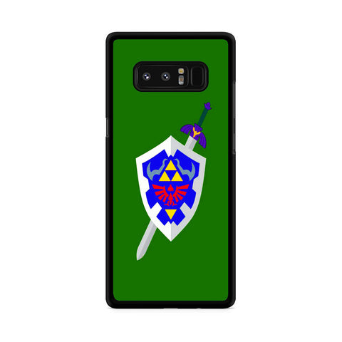 The Legend of Zelda Sword Shield Samsung Galaxy Note 8 Case