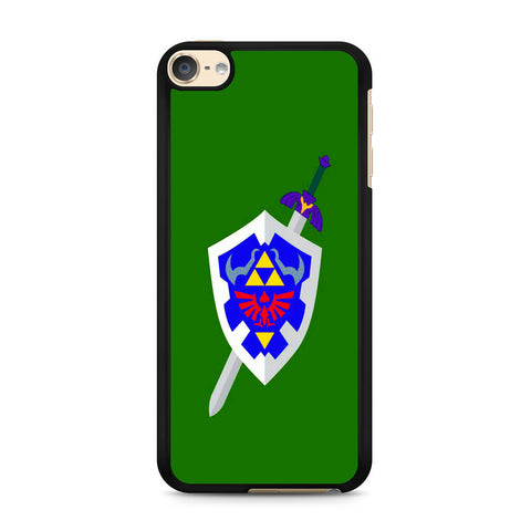 The Legend of Zelda Sword Shield iPod Touch 6 Case