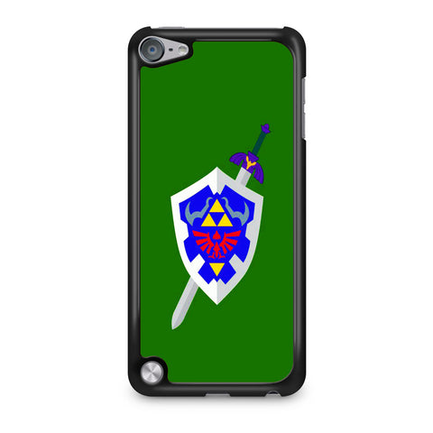 The Legend of Zelda Sword Shield iPod Touch 5 Case