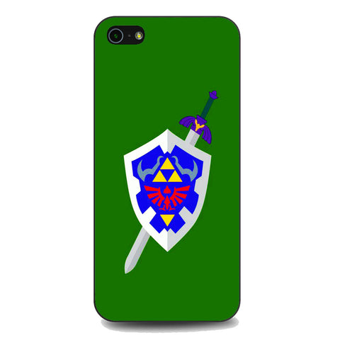 The Legend of Zelda Sword Shield iPhone 5 | 5S | SE Case