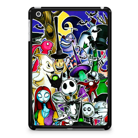 The Nightmare Before Christmas All Character iPad Mini 4 Case
