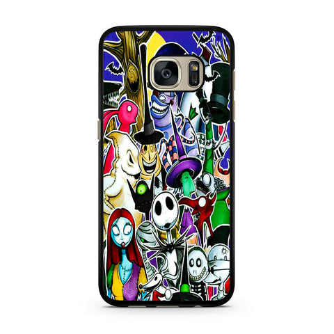 The Nightmare Before Christmas All Character Samsung Galaxy S7 | S7 Edge Case