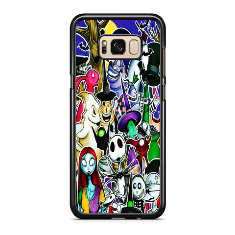 The Nightmare Before Christmas All Character Samsung Galaxy S8 | S8 Plus Case
