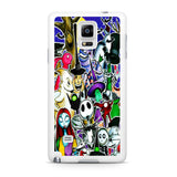 The Nightmare Before Christmas All Character Samsung Galaxy Note 4 Case