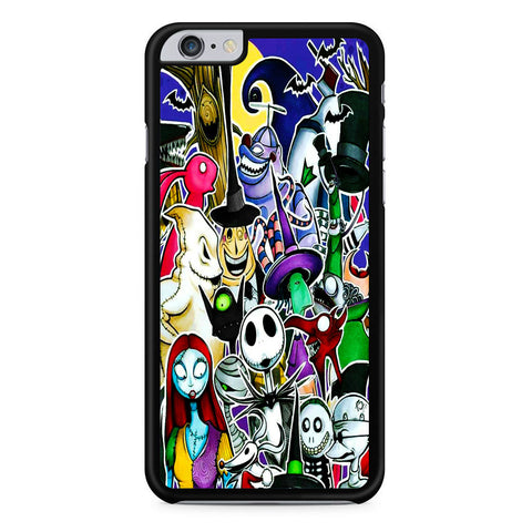 The Nightmare Before Christmas All Character iPhone 6 Plus | 6S Plus Case