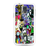 The Nightmare Before Christmas All Character Samsung Galaxy S5 Case