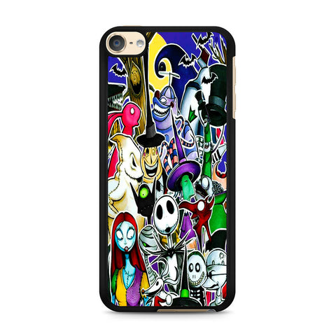 The Nightmare Before Christmas All Character iPod Touch 6 Case