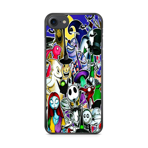 The Nightmare Before Christmas All Character iPhone 7 Case