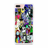 The Nightmare Before Christmas All Character iPhone 7 Plus Case