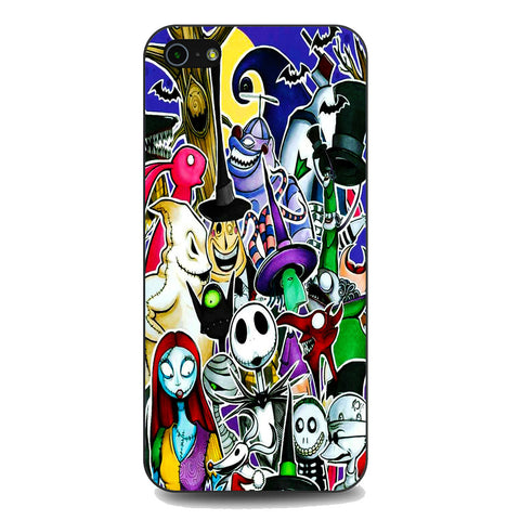 The Nightmare Before Christmas All Character iPhone 5 | 5S | SE Case