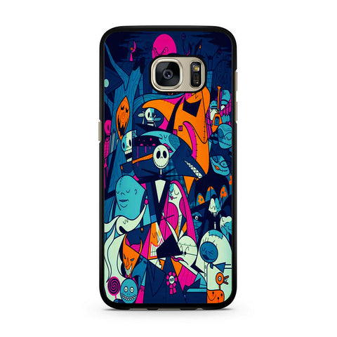 The Nightmare Before Christmas Collage Samsung Galaxy S7 | S7 Edge Case
