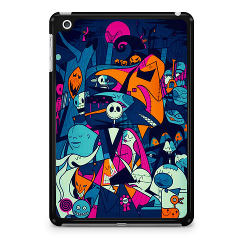 The Nightmare Before Christmas Collage iPad Mini 4 Case