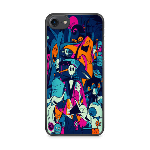 The Nightmare Before Christmas Collage iPhone 7 Case