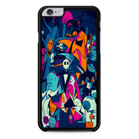 The Nightmare Before Christmas Collage iPhone 6 Plus | 6S Plus Case