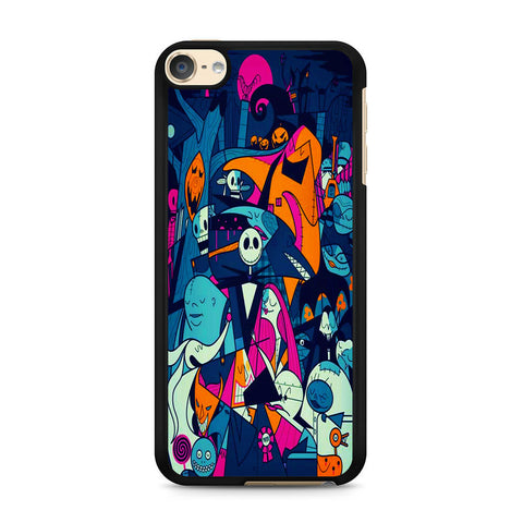 The Nightmare Before Christmas Collage iPod Touch 6 Case