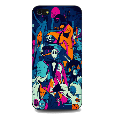 The Nightmare Before Christmas Collage iPhone 5 | 5S | SE Case