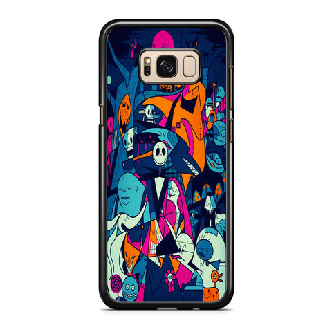 The Nightmare Before Christmas Collage Samsung Galaxy S8 | S8 Plus Case