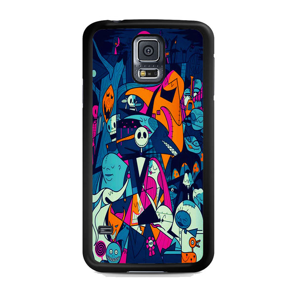The Nightmare Before Christmas Collage Samsung Galaxy S5 Case