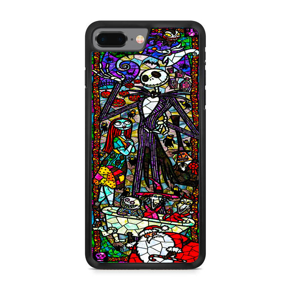 pretty nice 8f9c9 815e4 The Nightmare Before Christmas Mosaic iPhone 8 Plus Case