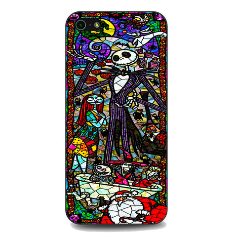 The Nightmare Before Christmas Mosaic iPhone 5 | 5S | SE Case