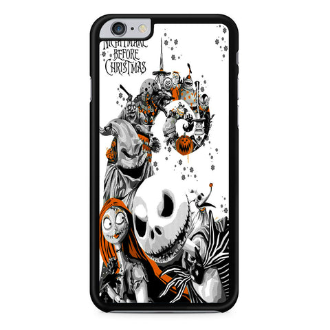 The Nightmare Before Christmas White Cover iPhone 6 Plus | 6S Plus Case