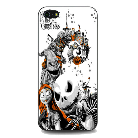 The Nightmare Before Christmas White Cover iPhone 5 | 5S | SE Case