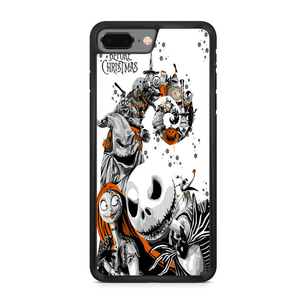 best cheap cf925 ee3cf The Nightmare Before Christmas White Cover iPhone 8 Plus Case