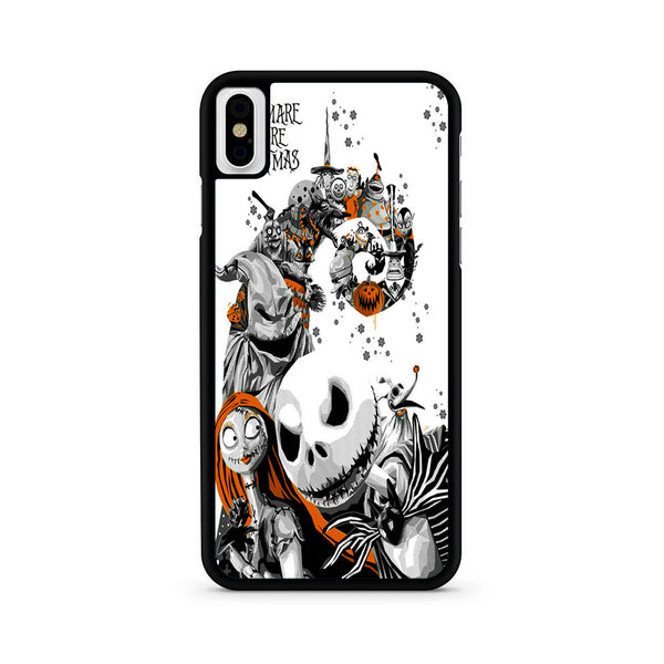 Nightmare Before Christmas Phone Case.The Nightmare Before Christmas White Cover Iphone X Xr Xs Xs Max Case