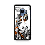 The Nightmare Before Christmas White Cover Samsung Galaxy S9 | S9 Plus Case