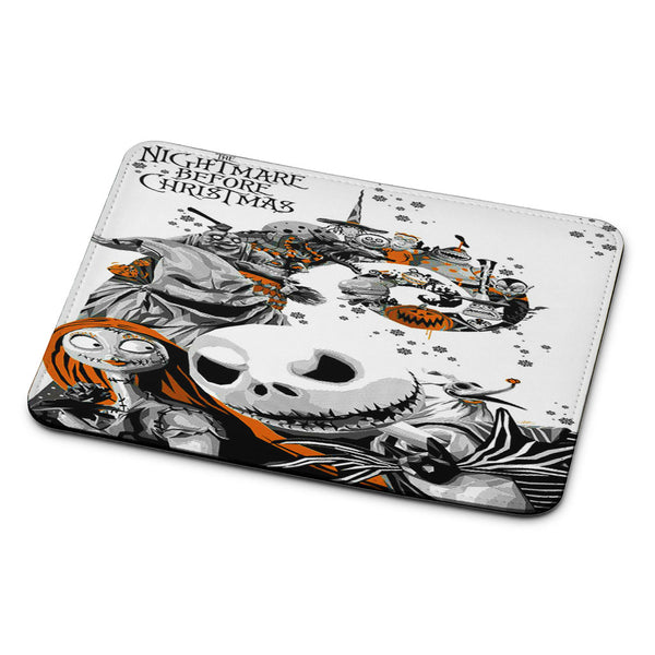 The Nightmare Before Christmas White Cover Mouse Pad