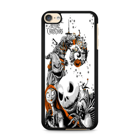 The Nightmare Before Christmas White Cover iPod Touch 6 Case