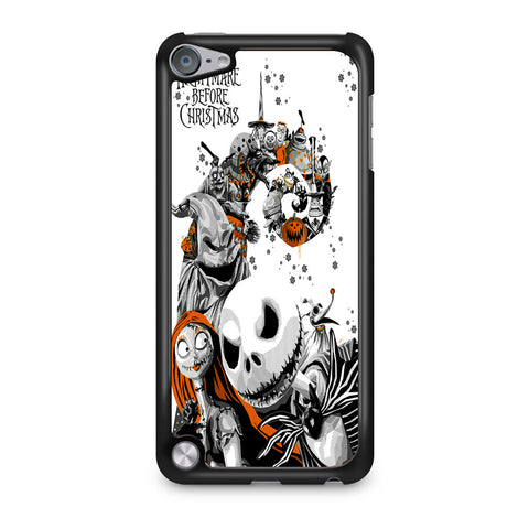 The Nightmare Before Christmas White Cover iPod Touch 5 Case