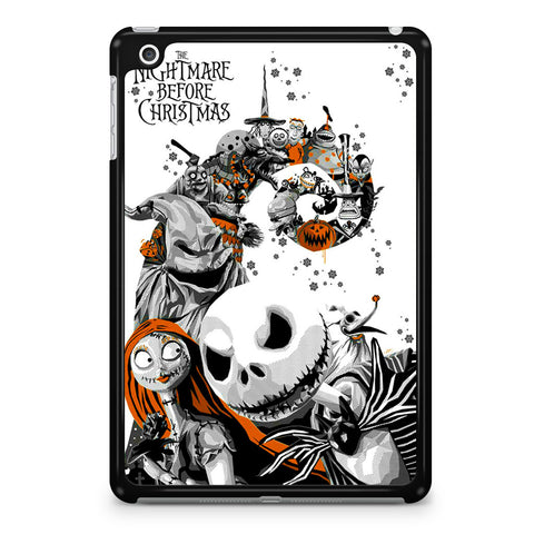 The Nightmare Before Christmas White Cover iPad Mini 4 Case