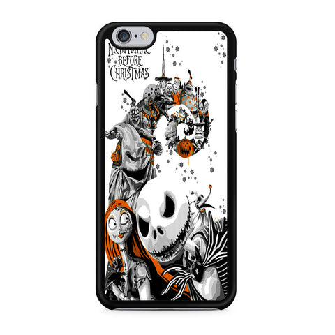 The Nightmare Before Christmas White Cover iPhone 6 | 6S Case
