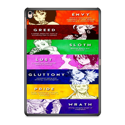 The Seven Deadly Sins Member iPad Pro 9.7 Inch Case