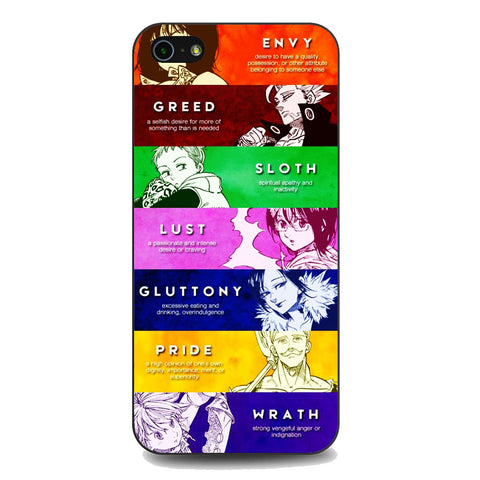 The Seven Deadly Sins Member iPhone 5 | 5S | SE Case