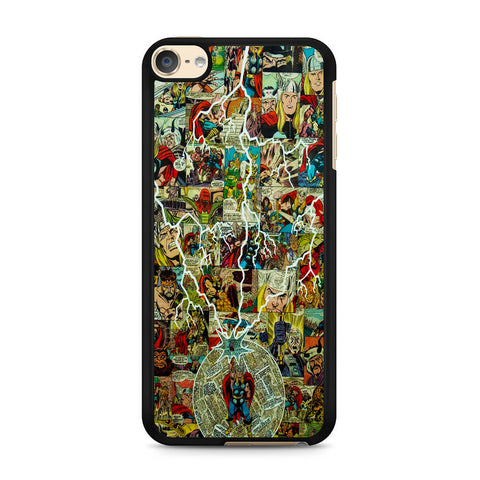 Thor Lightning Comic iPod Touch 6 Case